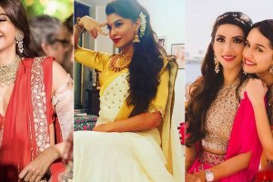 Sonam | Jaqueline and Shradda Kapoor at their friends weddings