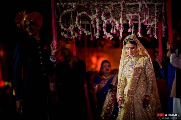 new phoolon ki chadar ideas for a perfect bridal entry | dulhaniya chadar | reels and frames