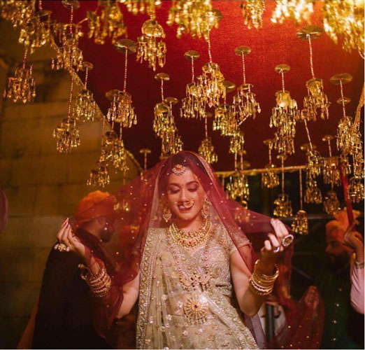 new phoolon ki chadar ideas for a perfect bridal entry | kaleera chadar | house on clouds films
