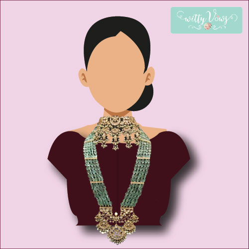 Indian Bridal Fashion | Bridal Necklace | collar necklace