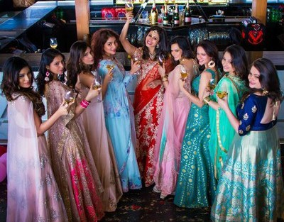Kishwer merchant with her squad | Create memories with your BFF– Bridesmaids photoshoot Ideas WE LOVED!