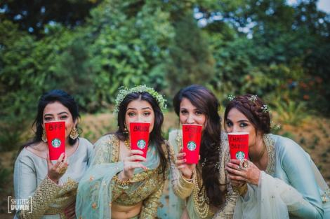 Stunning forest bridesmaid shoot| Get clicked with your BFF– Bridesmaid photo shoot Ideas WE LOVED!