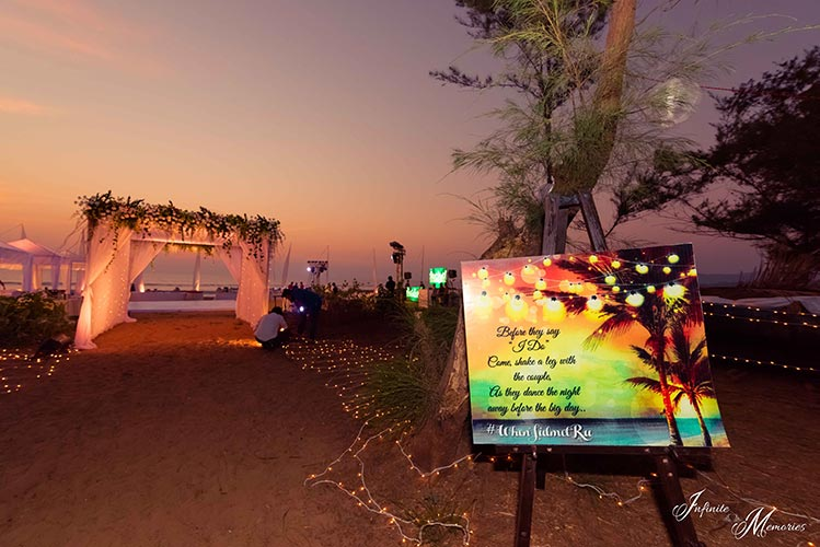 Siddharth and Rutika - Their Goa wedding was one looong party full ...