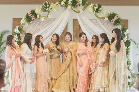 Fashion blogger Guiltybytes' photo shoot  Create memories with your BFF– Bridesmaids photoshoot Ideas WE LOVED!