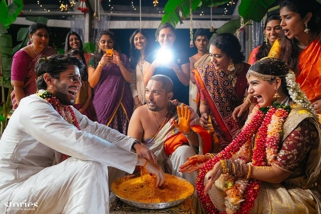#ChaySam during ceremonies | #CHAYSAM wedding - A Movie worthy celebration of love – that WE LOVED!