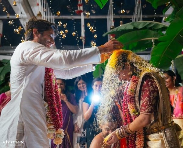 flower shower | #CHAYSAM wedding - A Movie worthy celebration of love – that WE LOVED!