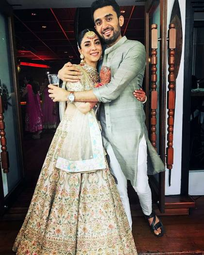 Sabyasachi lehenga   #CelebrityWedding done right – Amrita Puri's dreamy Bangkok wedding was such a stunning sight!