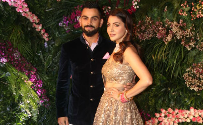 #Virushka at reception |#VIRUSHKA - Fab Fashion Ideas to steal !