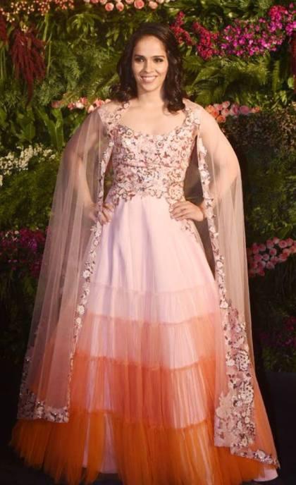 Sania at Virushka reception |#VIRUSHKA - Fab Fashion Ideas to steal !