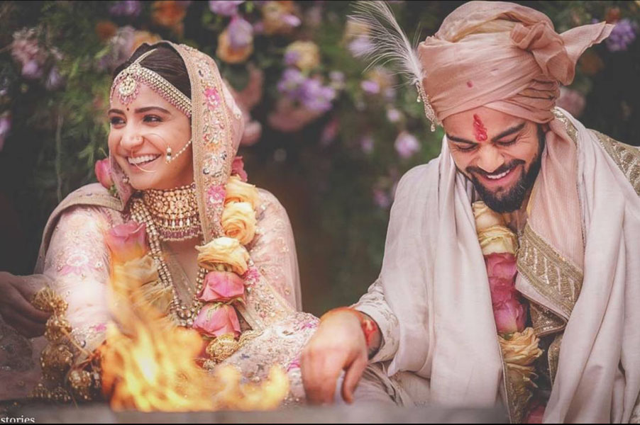 anushka sharma   virat kohli   celebrity wedding   celebrity   indian wedding   celebrity style   indian wedding video   bollywood   bollywood fashion