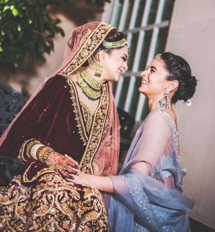 Alia & Kripa at wedding | Glamour, Girls and Goals – Trending & how #TheMehtaWedding in Jodhpur & its Bollywood Bridesmaid!