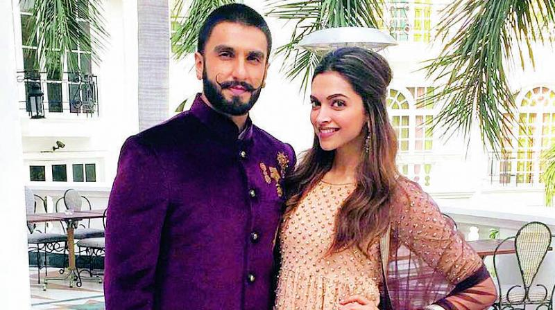 The DeepVeer engagement on deepika's birthday!