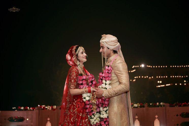 Gautam & Pankhuri at wedding | #CelebrityWedding - Gautam &Pankhuri's FORT-ful wedding in Alwar!