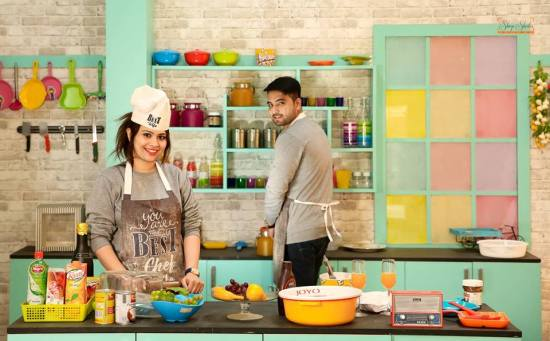 Couple cooking | Celebrate Love - Instaworthy Valentine Ideas for your darling