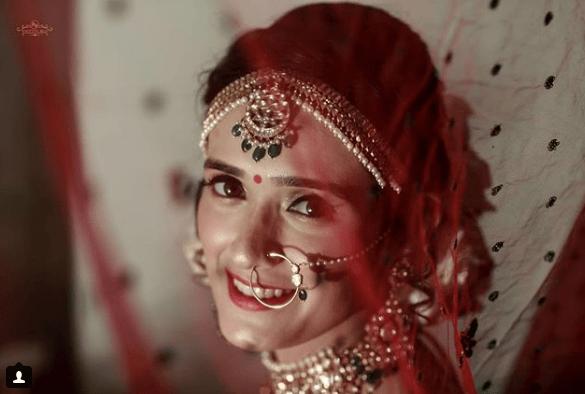 Pankhuri getting ready | #CelebrityWedding - Gautam &Pankhuri's FORT-ful wedding in Alwar!