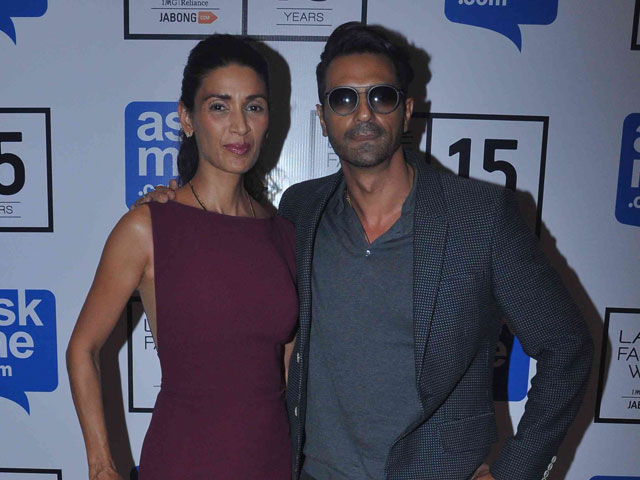 The Arjun Rampal divorce with Mehr Jessica