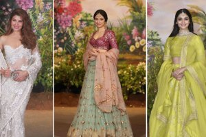 celebrity inspired Indian bridesmaid looks