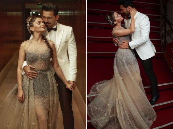 Indian Wedidng Trends 2018 from Rubina Dilaik's wedding | Rubina DIlaik and Abhinav Shukla at their reception