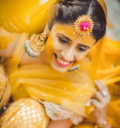 Gota jewellery on haldi | 5 ways to make your haldi Happy & High - Swoon & Sight