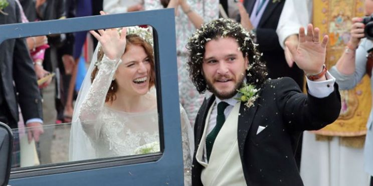 GOT wedding Kit and rose   Jon snow and Ygritte get married