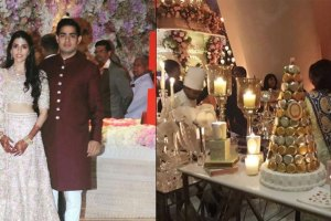 Shloka Mehta & Akash Ambani Engagement