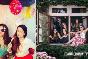 Indian bachelorette ideas from celebrity bridesmaids