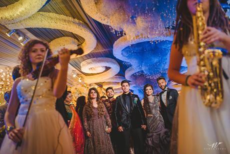 Abheshek & Smily   Chandigarh Weddings   Wedding reception   Entry ideas   Reception decor ideas   Candid pictures   Manish Malhotra   GauravGupta  