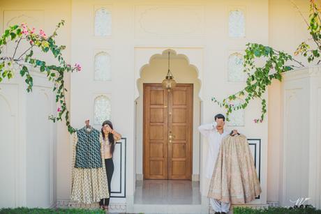 Abheshek & Smily - A Chandigarh Wedding full of fun photo   couple shoot ideas   cute couple poses for indian weddings