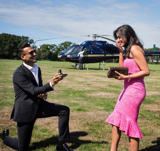 Rimal & Shivali | Dreamy Proposal ideas | Indian couples | Big gestures | Pre Wedding photo shoot ideas |