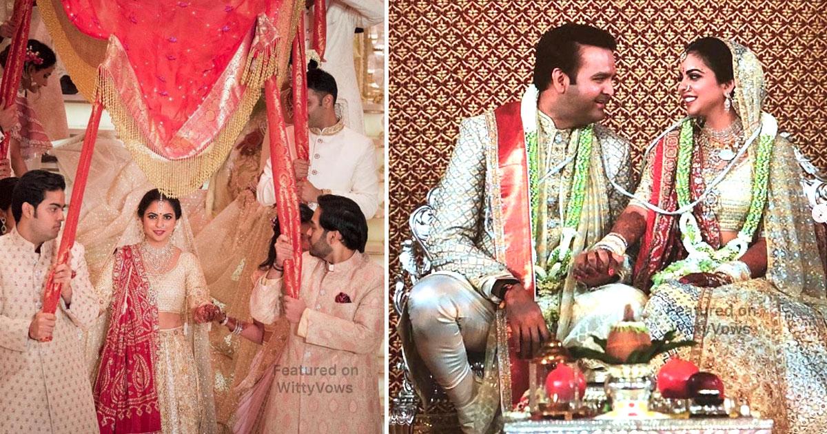 The Isha Ambani Wedding