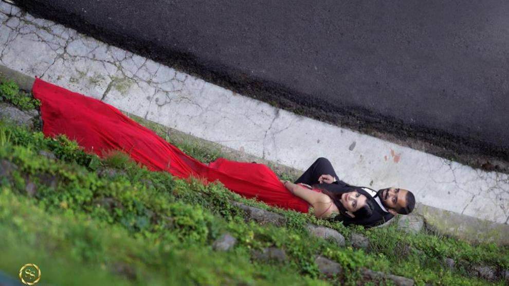 pre wedding shoot in Shimla | Palak and Himank | Pre wedding photo shoot | Romantic couple shoot ideas | ride to be in red gown | Fairy tale shoot ideas | Love Story | real Indian couples | Indian wedding Photography |