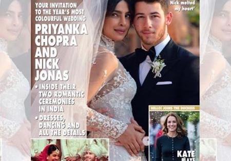 Priyanka Chopra and Nick Jonas Wedding   White Wedding   Celebrity Weddings  