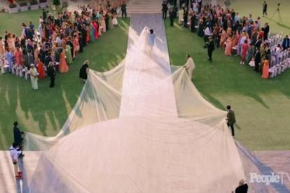 Priyanka chopra and nick Jonas wedding photos by People magazine