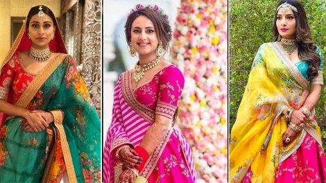 Second dupatta ideas for indian brides