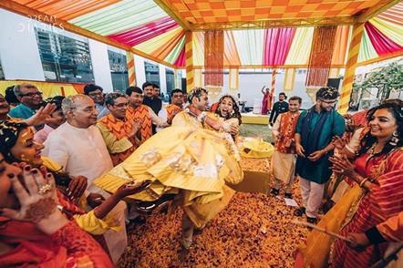 Post Wedding Photoshoot   Phoolon ki Holi   Holi celebrations   First Holi   Romantic   Candid Photography   Newlyweds   Holi Party