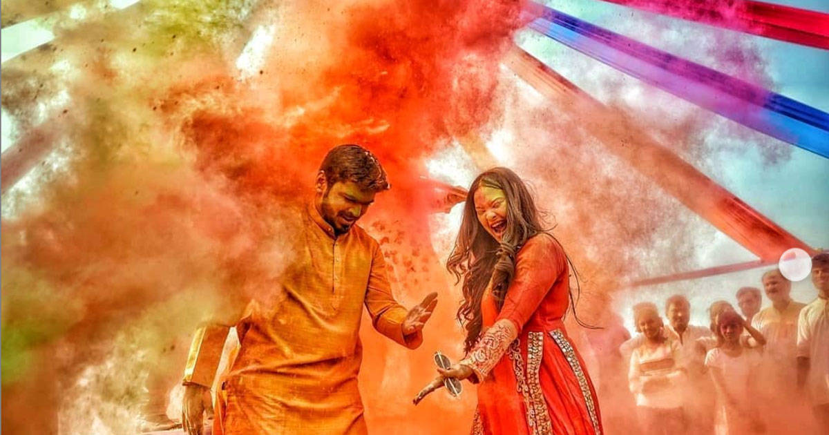 (c) Busy Bee studio | Holi Shoot
