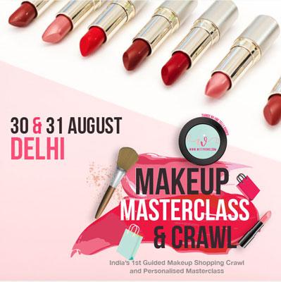 Makeup masterclass delhi | best bridal makeup class in delhi | Trousseau shopping with the best makeup artists in delhi