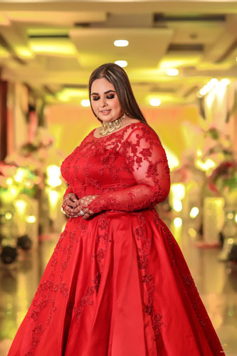 Plus Size Bridal fashion | Bridal Makeup and hair | Indian Wedding Photography |