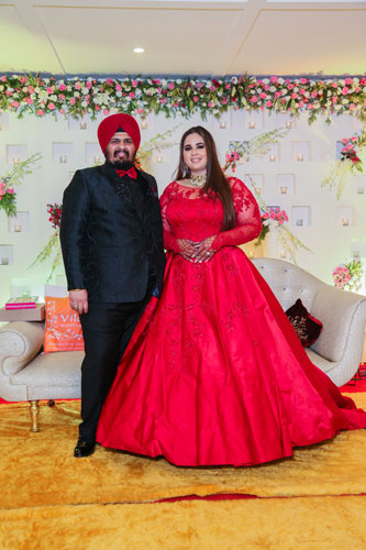 plus size bride | Couple Goals | Matching outfits | Getting Married | Punjabi | Plus Size | Fashion inspiration