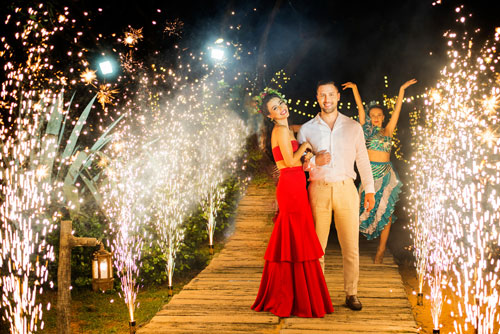 Prianka & Rico | White Wedding | French and Indian | Wedding Vows | candid wedding Photography | destination weddings in Phuket | Thailand | Beach Weddings | Altair | Wedding with a view | love | Must see | real Weddings | Red gown