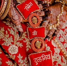 Wedding trends | Latkans | customised | Personalised | Names | Bride and groom