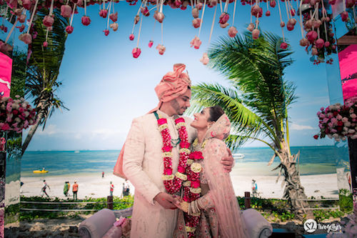 #pasha2019 | Beach wedding in Kenya | Paayal & Samir | Just married |