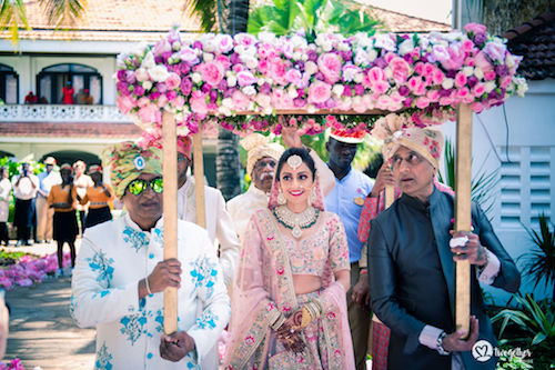 #pasha2019 | Beach wedding in Kenya | Phoolon ki Chadar | Bridal entry ideas |