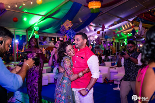 Bride and groom | Destination Wedding in Kenya | Beach | Party | sangeet ideas | Couple pictures