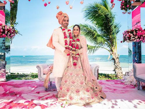#pasha2019 | Beach wedding in Kenya | Sabyasachi Lehenga | pastels |