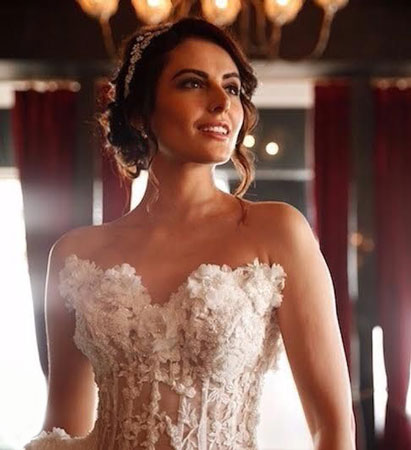Mandana Karimi | White wedding | Magazine cover | Photoshoot | Celebrity makeup Artist in Mumbai