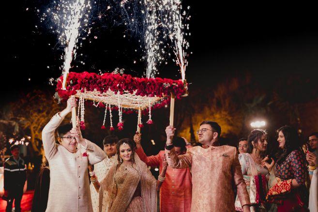 A dreamy wedding of Priyanka and Parth in Udaipur