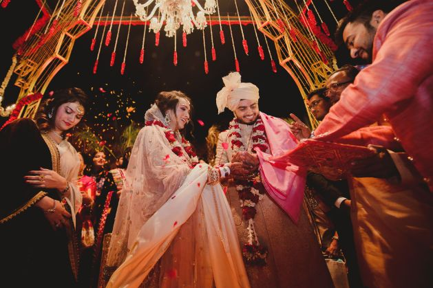 bride and groom photoshoot ideas   wedding ceremony rituals   A dreamy wedding of Priyanka and Parth in Udaipur