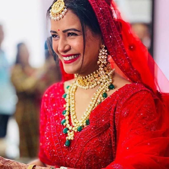 Mona Singh's wedding photo | Celebrity Wedding Trends of 2019