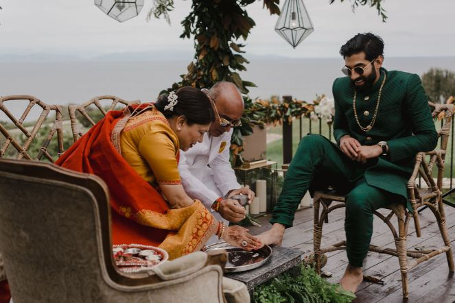 Indian wedding rituals | Riya and Ankur's wedding in California